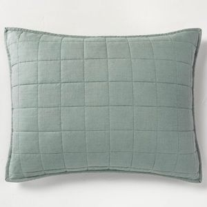 2 CASALUNA Heavy Weight Linen Blend Pillow Shams